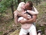 Busty German Mature Fucked In The Woods