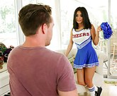 Exxxtra Small – Young Sexy Cheerleader Gets Huge Cock
