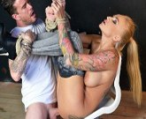 Houseof Taboo – Beautiful Tattooed Milf Kayla Green gets tied up and Fucked Deep