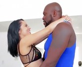 Kristina Rose and Lex Steele – Sexy brunette opens ass for big black cock