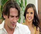 Young brunette Dillion Harper is very ambitious student