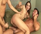Amber Rayne, Cheyne Collins and Scott Lyons fucking in threesome